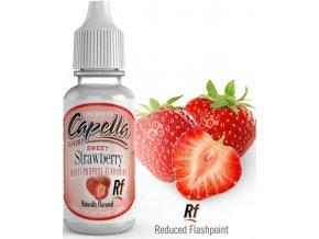 Příchuť Capella 13ml Sweet Strawberry (Sladká Jahoda)  + dárek zdarma
