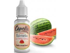 Příchuť Capella 13ml Sweet Watermelon (Sladký Vodní Meloun)  + dárek zdarma