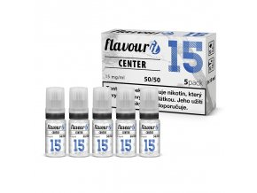 flavourit center 50 50 15mg 5x10ml
