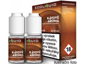 Liquid Ecoliquid Premium 2Pack Coffee 2x10ml - 3mg (Káva)  + DÁREK ZDARMA