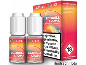 Liquid Ecoliquid Premium 2Pack Ecobull 2x10ml - 3mg (Energetický nápoj)  + DÁREK ZDARMA