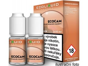 Liquid Ecoliquid Premium 2Pack ECOCAM 2x10ml - 3mg  + DÁREK ZDARMA