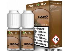 Liquid Ecoliquid Premium 2Pack ECODAV 2x10ml - 3mg  + DÁREK ZDARMA