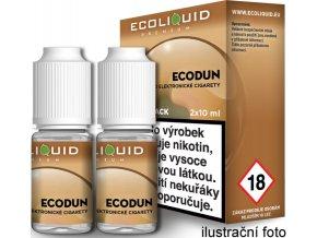 Liquid Ecoliquid Premium 2Pack ECODUN 2x10ml - 3mg  + DÁREK ZDARMA