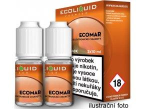 Liquid Ecoliquid Premium 2Pack ECOMAR 2x10ml - 3mg  + DÁREK ZDARMA