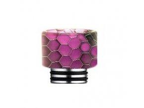 Snake Pattern 810 náustek pro clearomizer Purple  + DÁREK ZDARMA