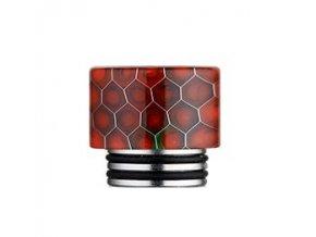 Snake Pattern 810 náustek pro clearomizer Red  + DÁREK ZDARMA
