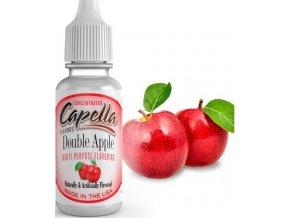 Příchuť Capella 13ml Double Apple (Dvojitá jablečná chuť)  + DÁREK ZDARMA