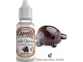Příchuť Capella 13ml Double Chocolate (Dvojitá čokoláda)
