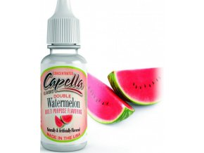 Příchuť Capella 13ml Double Watermelon (Dvojitá chuť vodního melounu)  + DÁREK ZDARMA