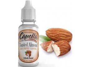 Příchuť Capella 13ml Toasted Almond (Opražené mandle)  + DÁREK ZDARMA