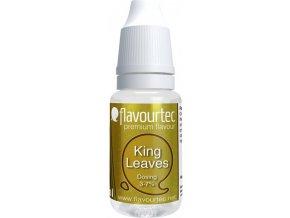 Příchuť Flavourtec King Leaves 10ml (Královský tabák)  + DÁREK ZDARMA