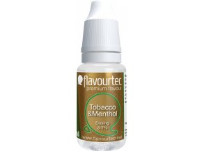 Příchuť Flavourtec Tobacco and Menthol 10ml (Tabák a mentol)  + DÁREK ZDARMA