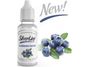 Příchuť Capella Silver Line 13ml Blueberry Extra (Borůvky)