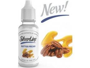 Příchuť Capella Silver Line 13ml Butter Pecan (Pražené ořechy s máslem a vanilkou)