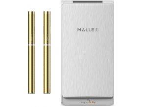 Vapeonly Malle PCC elektronická cigareta 180mAh + PCC 2250mAh Gold-White  + DÁREK ZDARMA