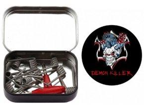 Demon Killer Spaced Clapton spirálky 0.35ohm 10ks  + DÁREK ZDARMA