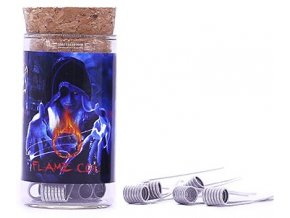 Demon Killer Flame Coil typ D spirálky 0.25ohm 6ks  + DÁREK ZDARMA