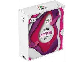 Liquid Dekang High VG 3Pack Lady Pink 3x10ml - 0mg  + DÁREK ZDARMA