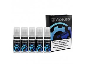 nikotinova premiova baze vapegear 40pg 60vg 5x10ml