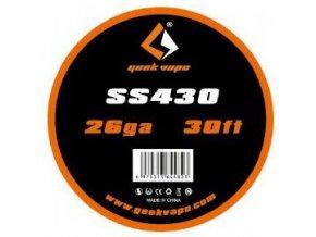 Geekvape SS430 odporový drát 26GA 0,4mm 10m