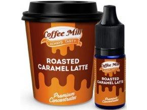 Příchuť Coffee Mill 10ml Roasted Caramel Latte  + DÁREK ZDARMA