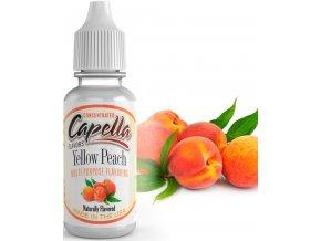 Příchuť Capella 13ml Yellow Peach ( Sladká a šťavnatá broskev)  + dárek zdarma