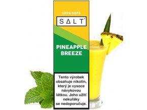 Liquid Juice Sauz SALT Pineapple Breeze 10ml - 20mg  + DÁREK ZDARMA
