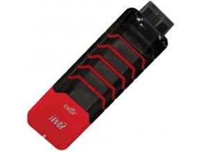 iSmoka-Eleaf iWu elektronická cigareta 700mAh Black-Red  + DÁREK ZDARMA