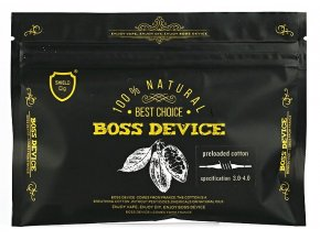 Shield Cig Boss Device organická bavlna  + DÁREK ZDARMA