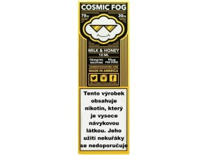 Liquid COSMIC FOG Milk and Honey 10ml-0mg