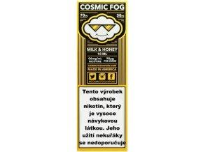 Liquid COSMIC FOG Milk and Honey 10ml-6mg