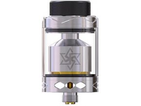 Gemz Lucky Star 2 RTA clearomizer Silver