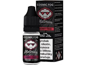 Liquid COSMIC FOG - Platinum Berry Trio 10ml-0mg