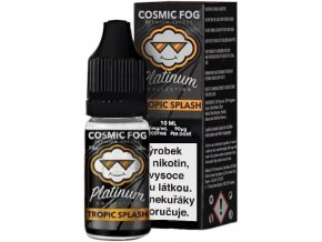 Liquid COSMIC FOG - Platinum Tropic Splash 10ml-0mg  + DÁREK ZDARMA