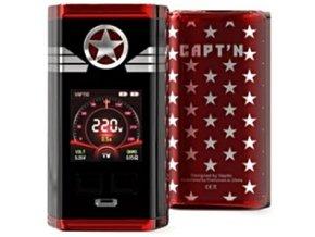 Vaptio Capt´n TC220W grip Easy Kit Red  + DÁREK ZDARMA