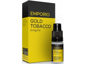 emporio gold tobacco 10ml 0mg
