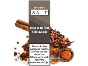 Liquid Juice Sauz SALT CZ Gold Rush 10ml - 10mg  + DÁREK ZDARMA