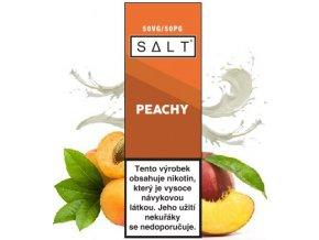 Liquid Juice Sauz SALT CZ Peachy 10ml - 10mg  + DÁREK ZDARMA