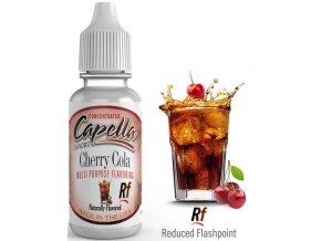 Příchuť Capella 13ml Cherry Cola (Kola s příchutí třešně)