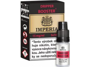 dripper booster cz imperia 5x10ml pg30vg70 15mg