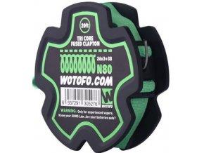 Wotofo Tri Core Fused Clapton odporový drát (26Ga*3+38Ga) 6m