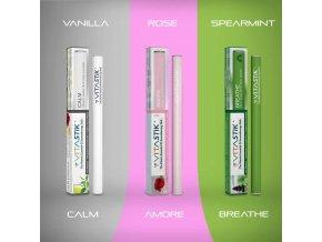 Vitamínová cigareta Vitastik SET ANXIETY BLENDS 3 kusy (vitamínový vaporizér)