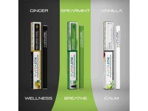 Vitamínová cigareta Vitastik SET RESCUE WATERS 3 kusy (vitamínový vaporizér)