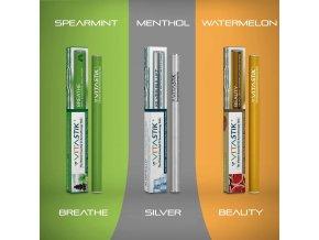Vitamínová cigareta Vitastik SET MINT LOVERS 3 kusy (vitamínový vaporizér)