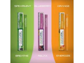 Vitamínová cigareta Vitastik SET ESSENTIAL EFFECTS 3 kusy (vitamínový vaporizér)