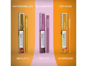 Vitamínová cigareta Vitastik SET GOLDEN BEAUTY 3 kusy (vitamínový vaporizér)