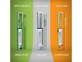 Vitamínová cigareta Vitastik SET ASTHMA RESPIRATORY AID 3 kusy (vitamínový vaporizér)