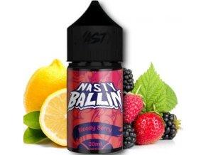 Příchuť Nasty Juice - Ballin 30ml Bloody Berry