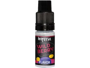 imperia black label 10ml wild berry stavnata lesni jahoda